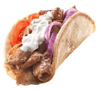 Collapser Section. Gyro Sandwich - Gyro PNG