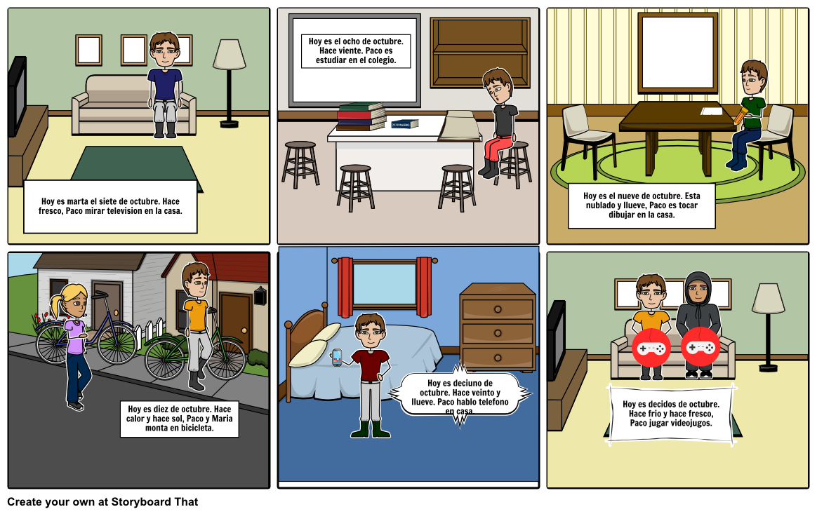 Choose How to Print This Storyboard - Hace Fresco PNG