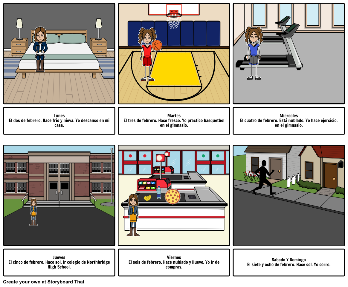 spanish storyboard - Hace Fresco PNG