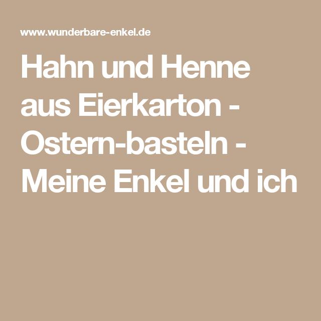 Hahn und Henne aus Eierkarton PlusPng.com  - Hahn Und Henne PNG