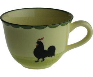 Zeller Keramik Hahn und Henne Cappuccino Obertasse 0,22 Ltr. - Hahn Und Henne PNG