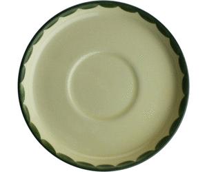 Zeller Keramik Hahn und Henne Kaffee-Untertasse 15 cm - Hahn Und Henne PNG