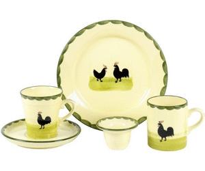 Zeller Keramik Hahn und Henne Kaffeeobertasse hoch 0,2 Ltr. - Hahn Und Henne PNG