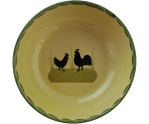 Zeller Keramik Hahn und Henne Schüssel 22 cm. Zurück. Zeller PlusPng.com  - Hahn Und Henne PNG