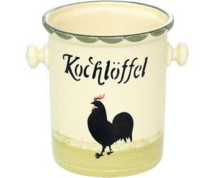 Zeller Keramik Kochlöffelbehälter Hahn und Henne - Hahn Und Henne PNG