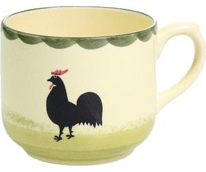 Zeller Keramik Obertasse Hahn und Henne - Hahn Und Henne PNG