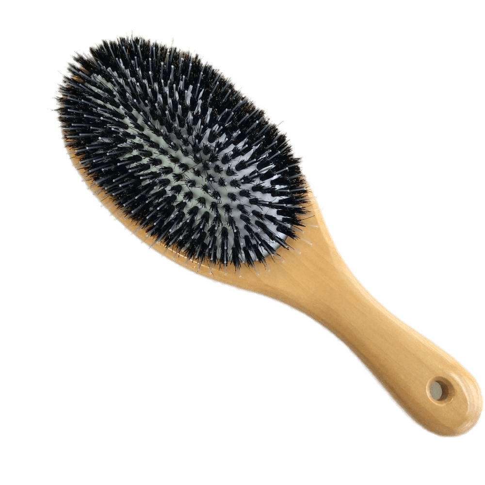 Hair Brush Wood - Hair Brush And Comb PNG