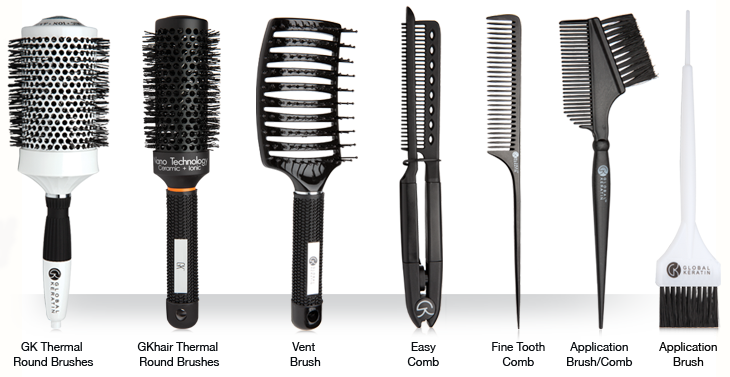 Hair Brushes and Combs - Hair Brush And Comb PNG