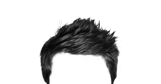 Hair PNG Free Zip File Download | Men Hair PNGs For PicsArt or Photoshop  Zip File - Hair HD PNG