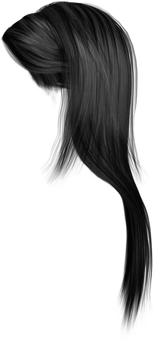 Hair PNG Transparent Image