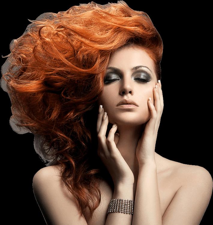 Home_barber_slider_girl.png - Hairdressing HD PNG - Hair Salon PNG HD