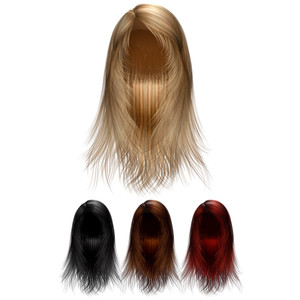 20 Png Hair Wigs Templates Download » Free Vector Graphics | Design Freebies - Hair Wig PNG