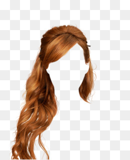 Golden Hair Wig Hair Clips To Pull The Free Graphics, Golden, Long Hair, ·  PNG - Hair Wig PNG