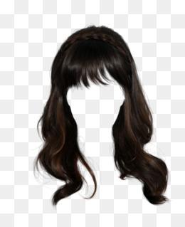 Pull Hair Wig Hair Clip Free, Wig, Long Hair, Material PNG Image - Hair Wig PNG