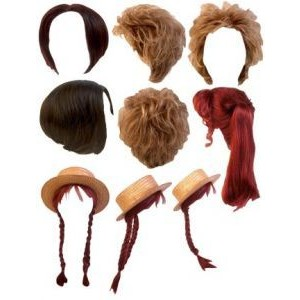 Hairstyles PNG Clipart for Photoshop - Hairstyles PNG