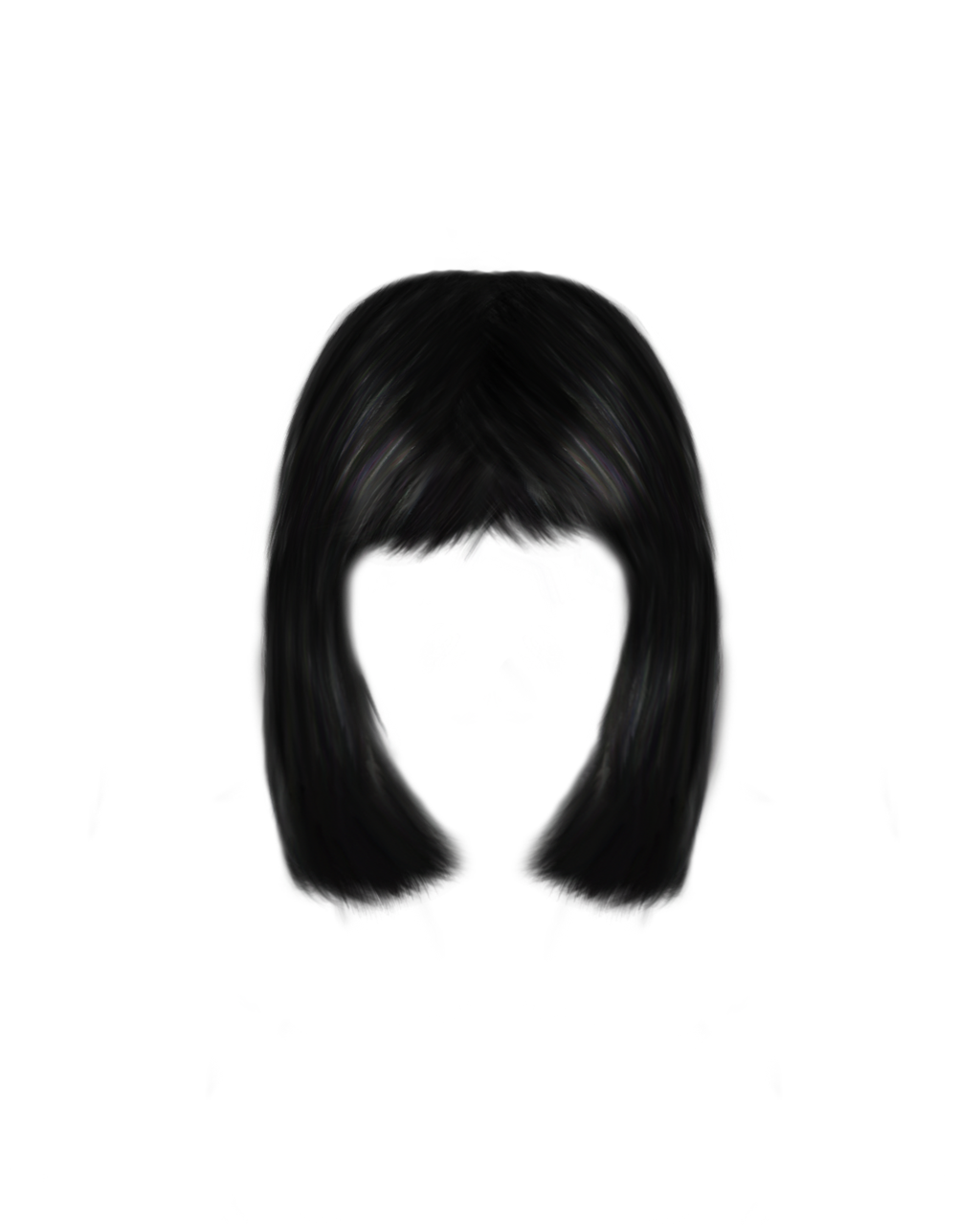 Png painted hair 4 by Moonglowlilly - Hairstyles PNG