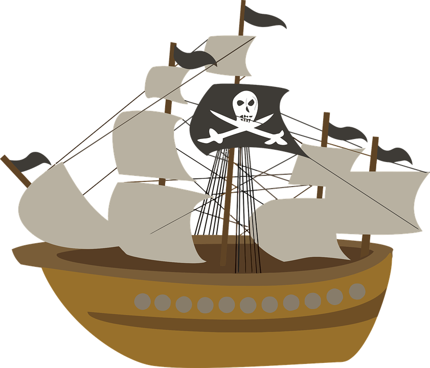 Vitorlás Hajó, Kalóz Hajó, Hajó, Pirates, Vitorla - Hajo PNG
