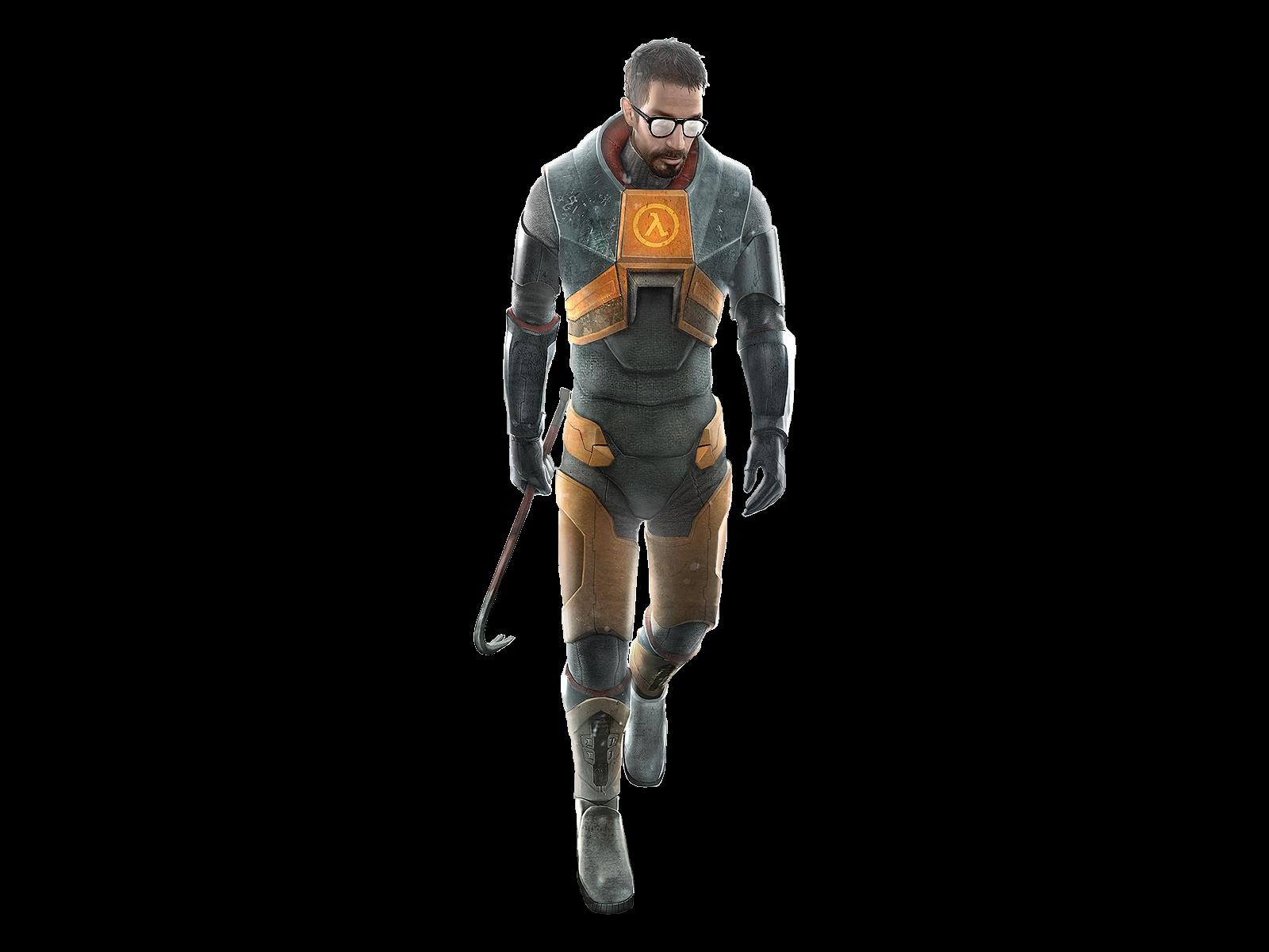 Gordon Freeman - Half-Life.png - Half Life PNG