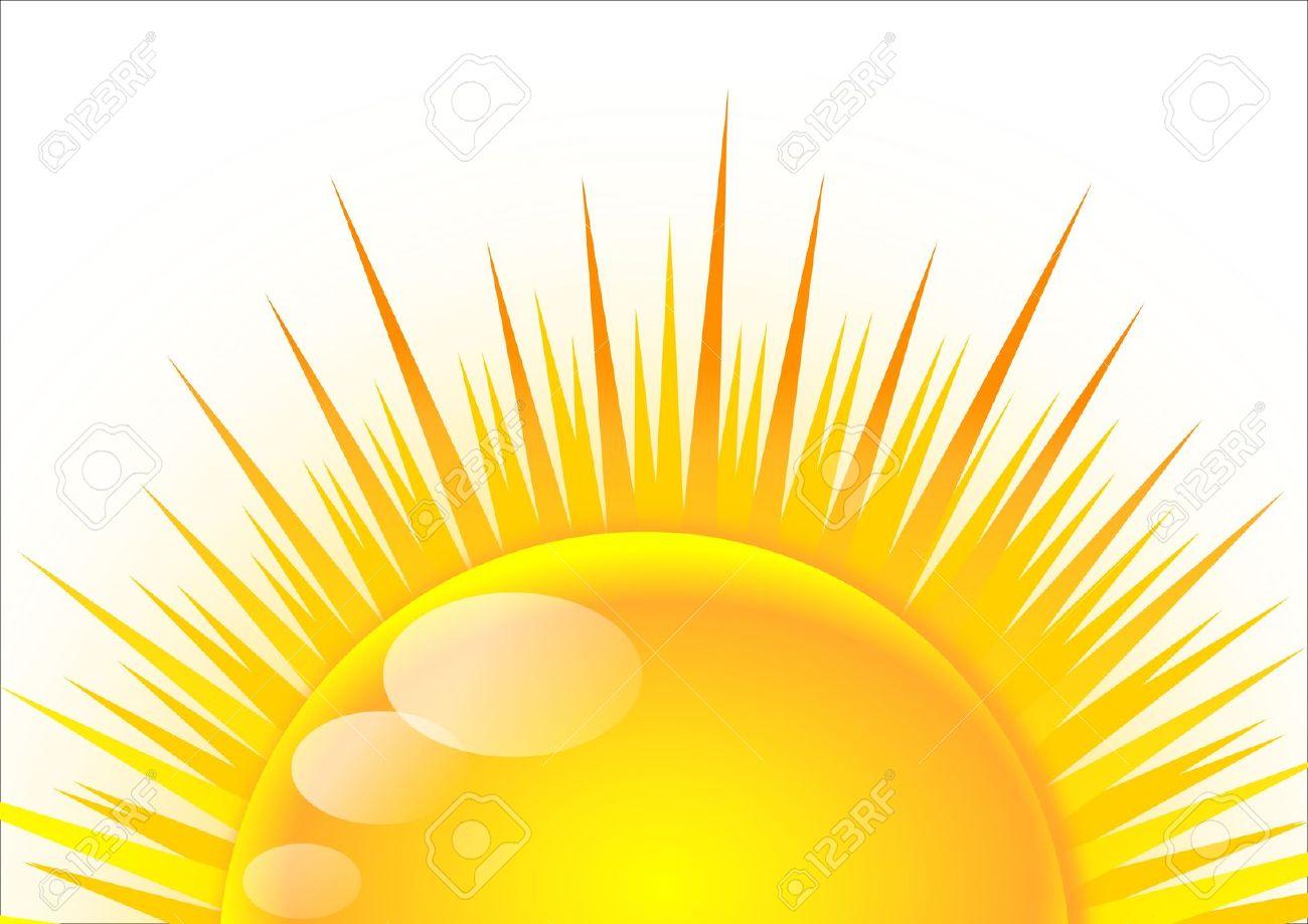pin Dawn clipart half sun #8 - Half Sun With Rays PNG