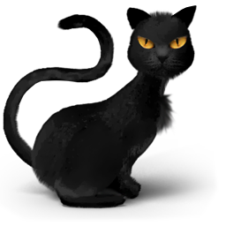 animal, animals, avatar, black, cat, catty, danger, evil,. Download PNG - Halloween Black Cats PNG