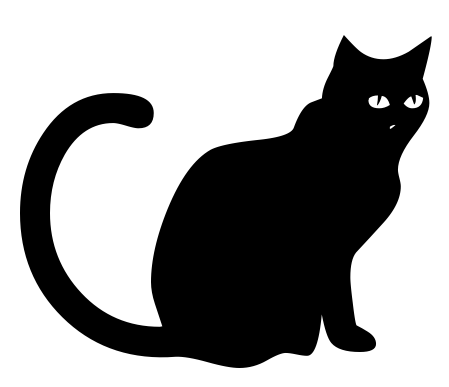 Download pngwebpjpg. - Halloween Black Cats PNG