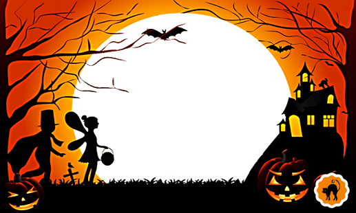 Halloween Photo Frame HD screenshot 3 - Halloween HD PNG