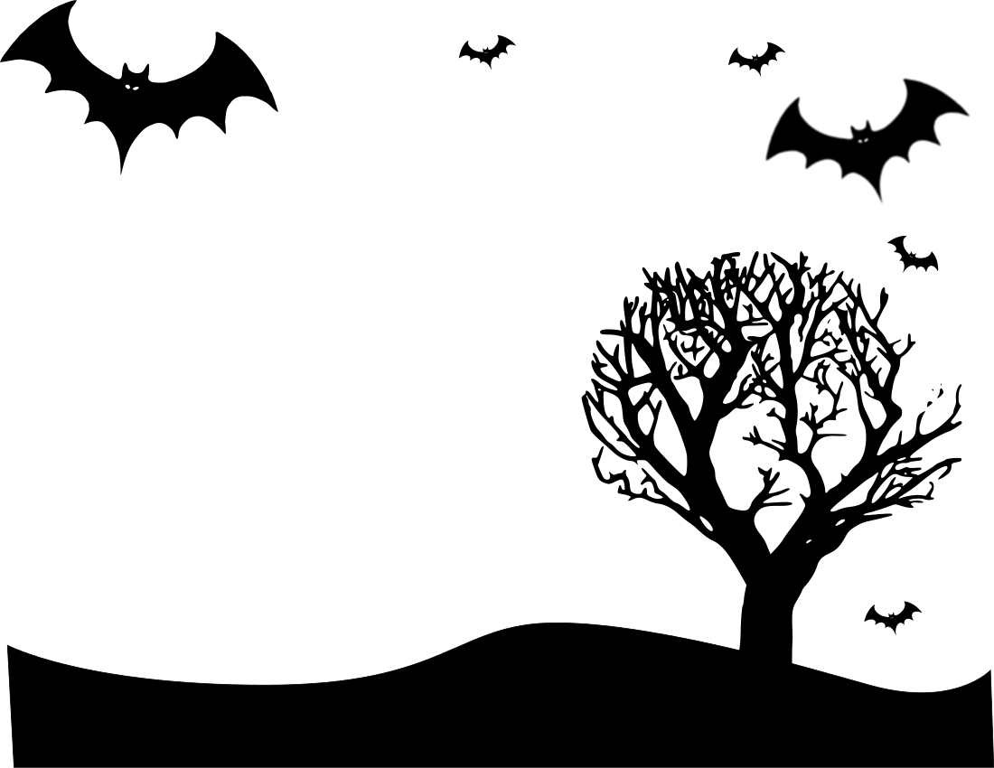 Halloween landscape page - /page_frames/holiday/Halloween /halloween_3/Halloween_landscape_page.png.html - Halloween PNG