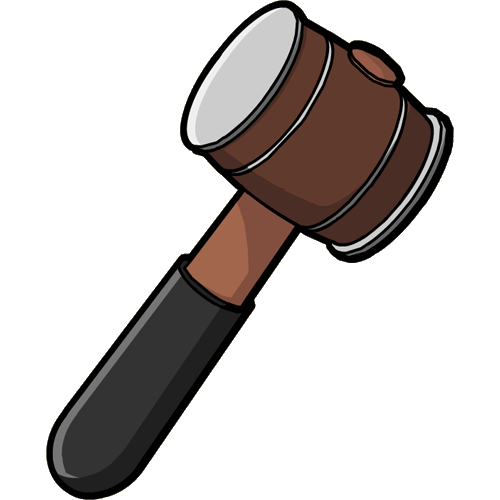 Hammer PNG - 9710