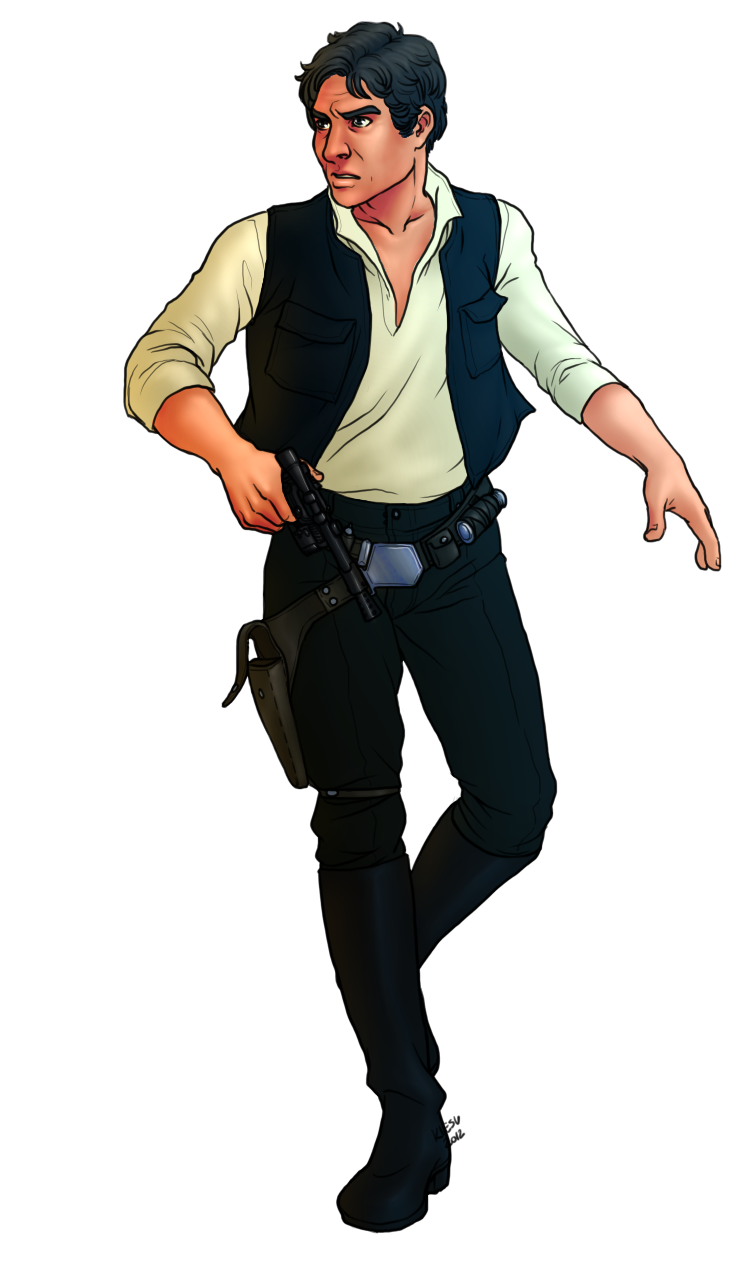 Han Solo PNG - 52940
