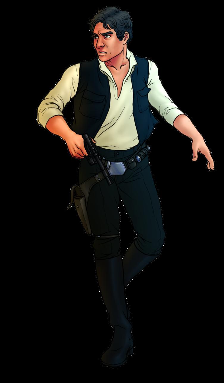 Han Solo by kiesu Han Solo by kiesu - Han Solo PNG