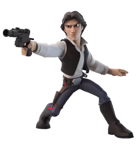 Han Solo Disney INFINITY.png - Han Solo PNG