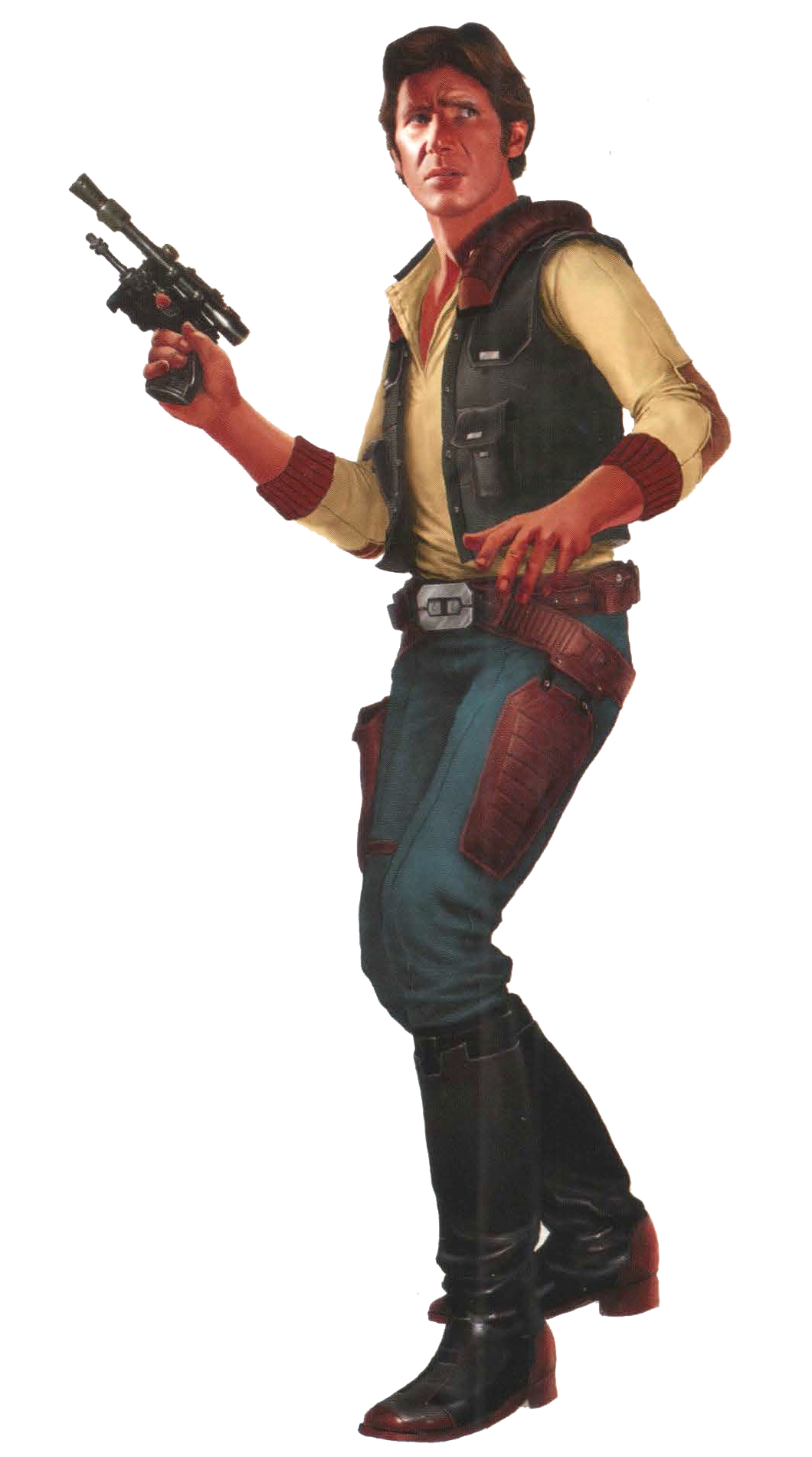 Han Solo EotECR.png - Han Solo PNG