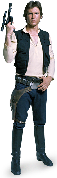 Han Solo render.png - Han Solo PNG
