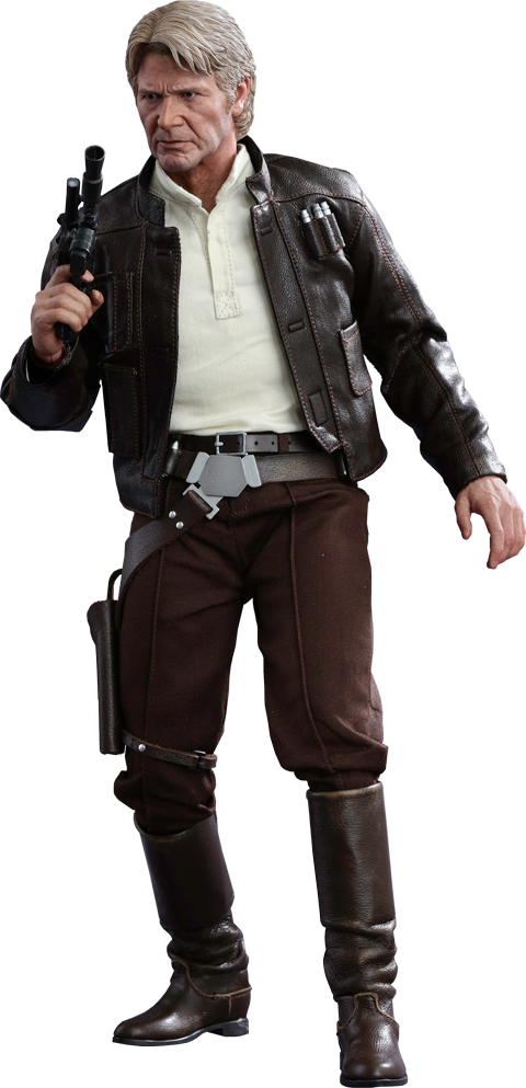 Hot Toys Han Solo Sixth Scale Figure - Han Solo PNG