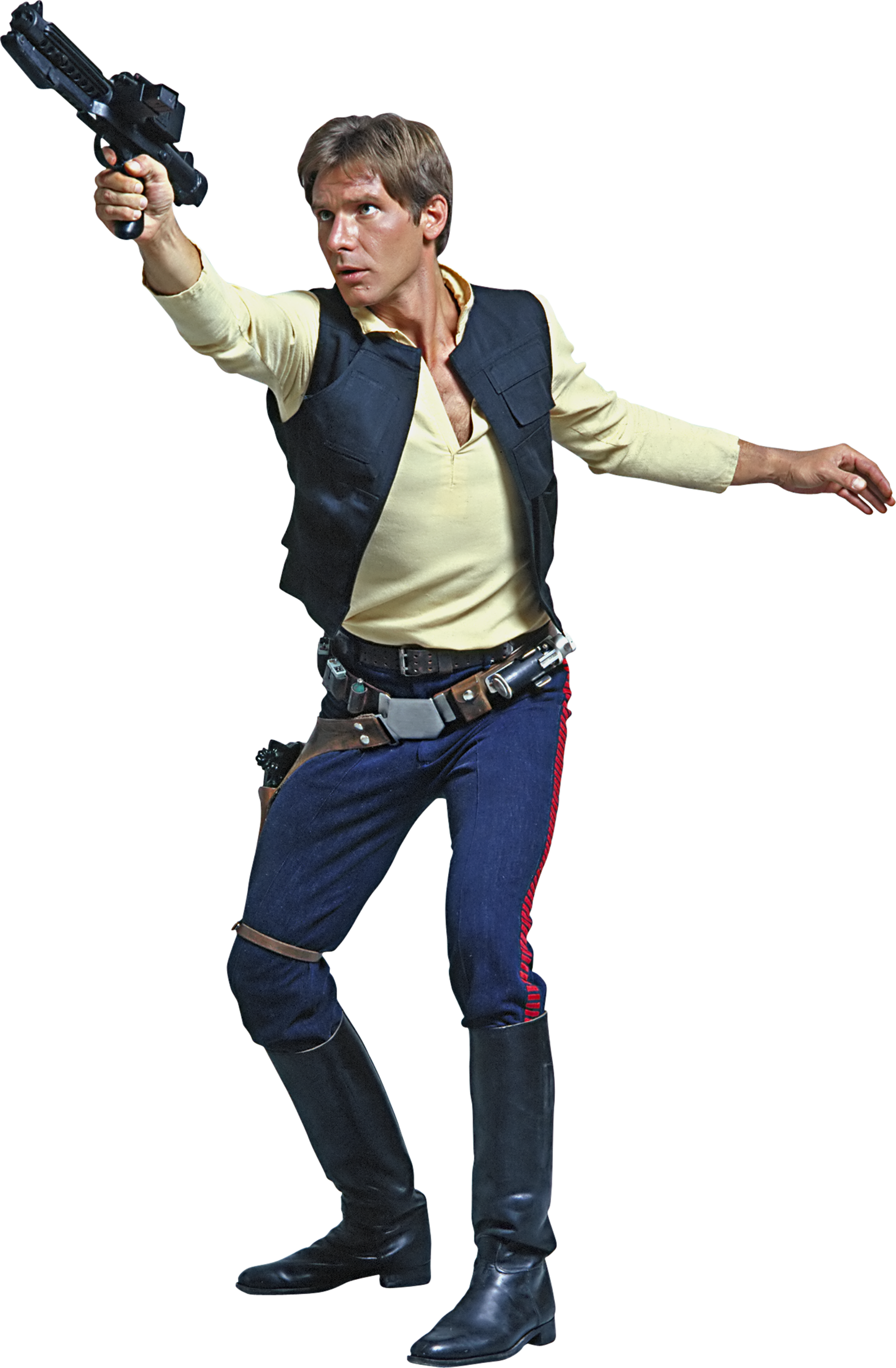 Image - Han-Solo-Fathead-01.png | Disney Wiki | FANDOM powered by Wikia - Han Solo PNG