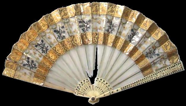 File:Hand fan 1800 1805.png - Hand Fan PNG
