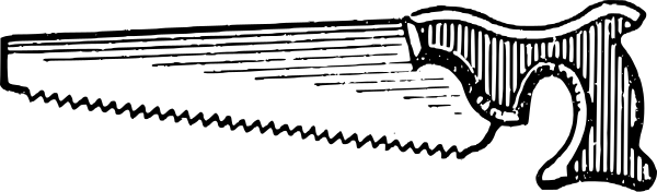 handsaw - Hand Saw PNG