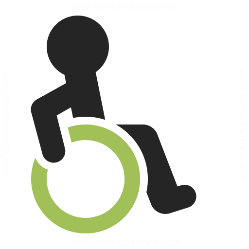 Disability Icon - Handicapped PNG HD
