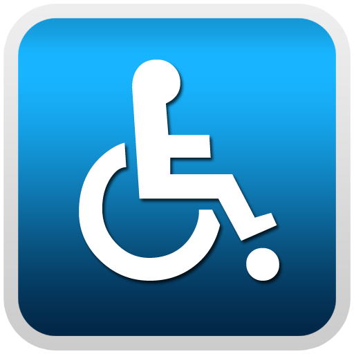 handicap disability sign clipart image - Handicapped PNG HD