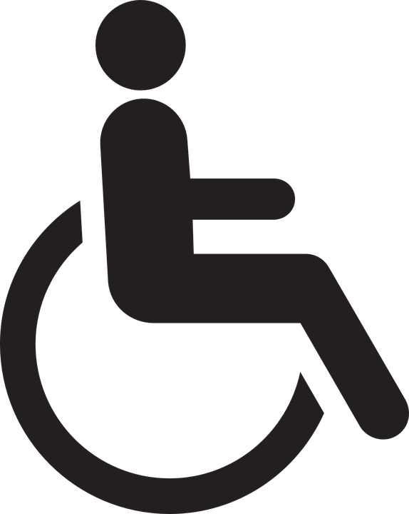 Handicapped, Chair, Wheelchair, Wheel, Disabled, Logo - Handicapped PNG HD