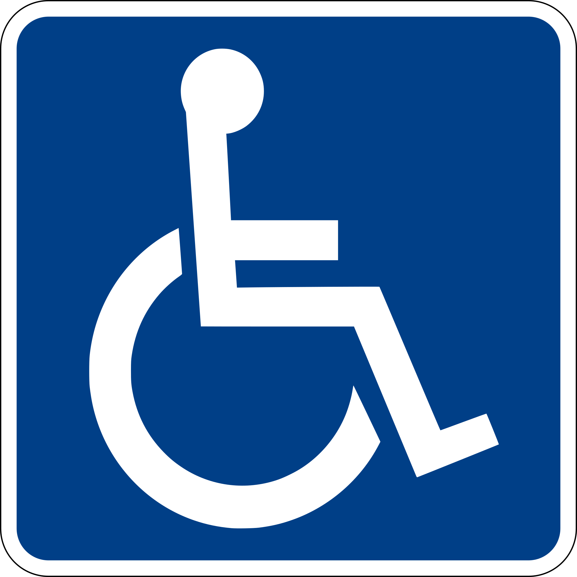 Open PlusPng.com  - Handicapped PNG HD