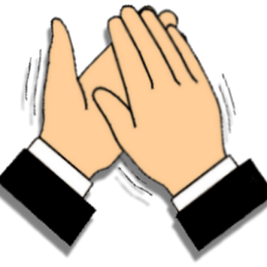 Hands Clapping PNG HD - 126608
