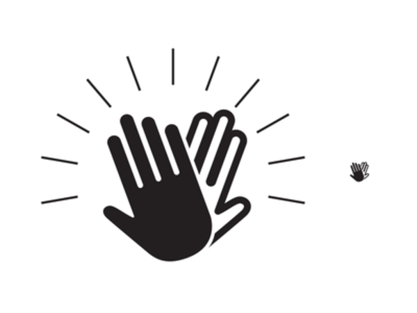 Clapping Hands Clipart - Hands Clapping PNG HD