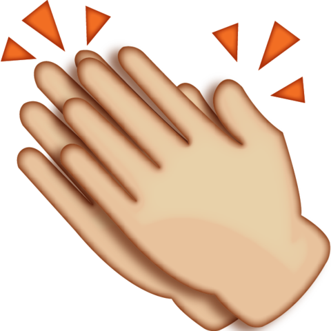Hands Clapping PNG HD