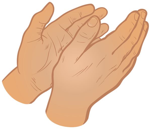 Hands Clapping PNG HD - 126603