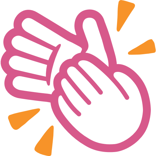 Clapping Hands Sign Emoji - Hands Clapping PNG HD