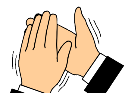 Hands Clapping PNG HD - 126619