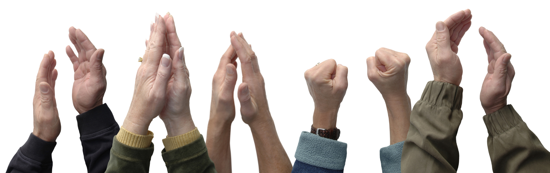 Hands Clapping PNG HD - 126611