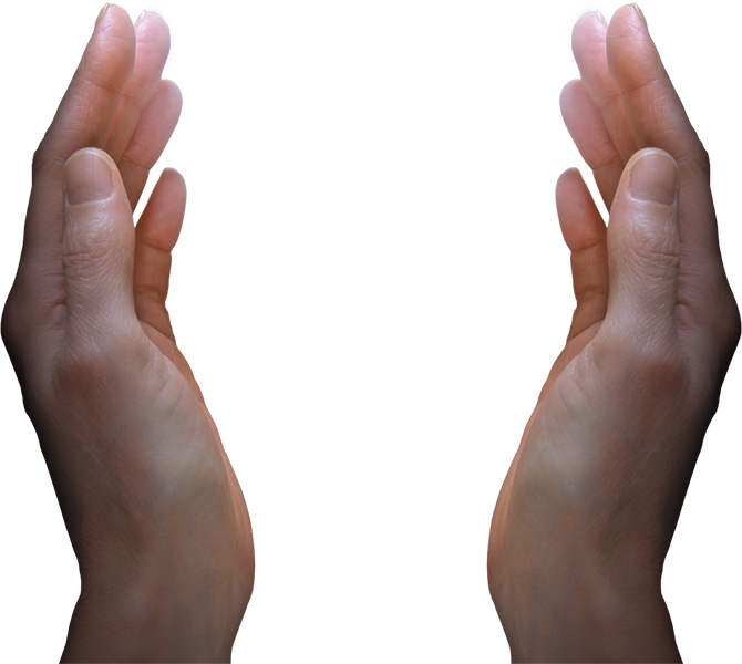 Are miracles possible? - Hands HD PNG