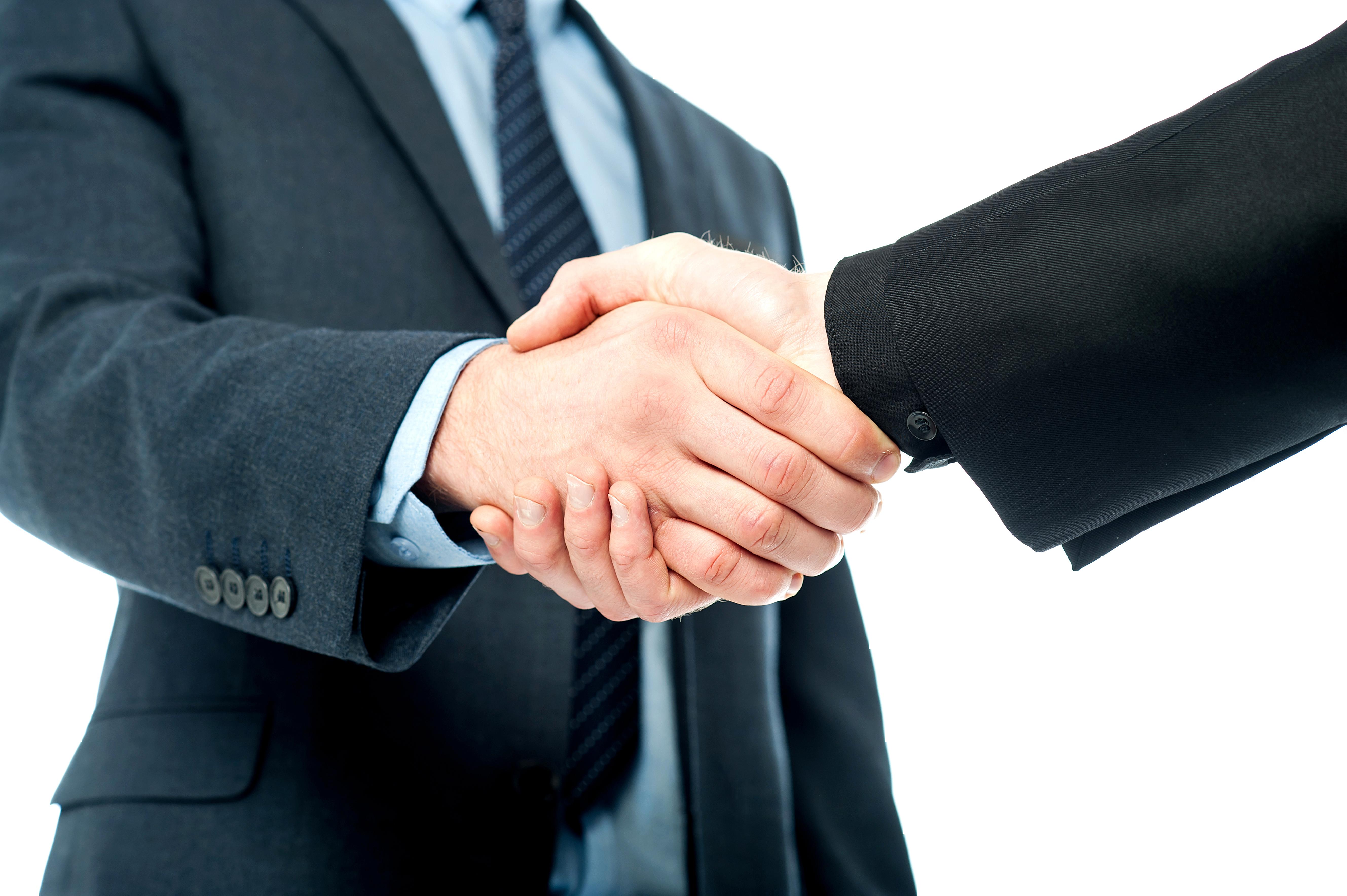 Business Handshake Free PNG Image - Handshake PNG HD